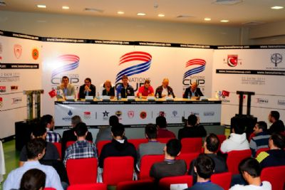 Basketball coaches press conference 2