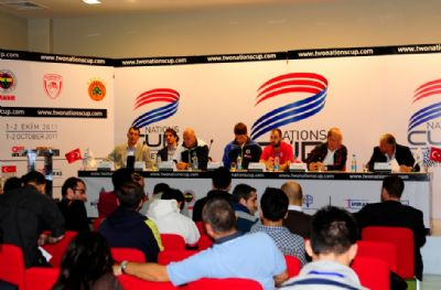 Basketball coaches press conference 3
